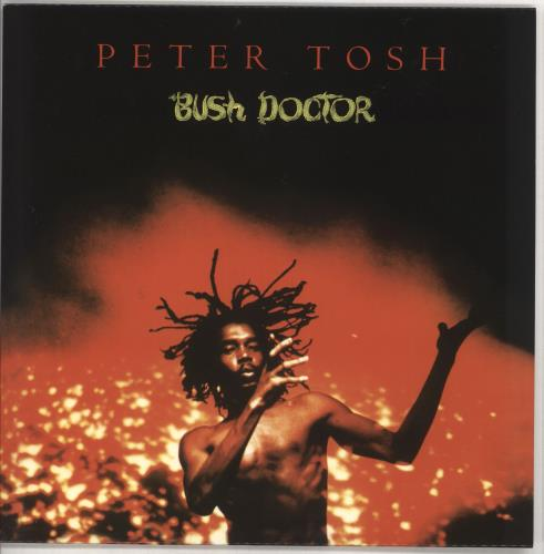 Peter Tosh Bush Doctor - 180gm vinyl LP album (LP record) UK TOSLPBU728033