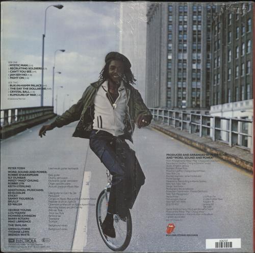 Peter Tosh Mystic Man vinyl LP album (LP record) German TOSLPMY727037