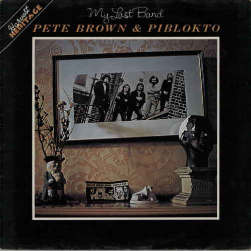 Pete Brown (Piblokto) My Last Band - Factory Sample vinyl LP album (LP record) UK PBRLPMY597516