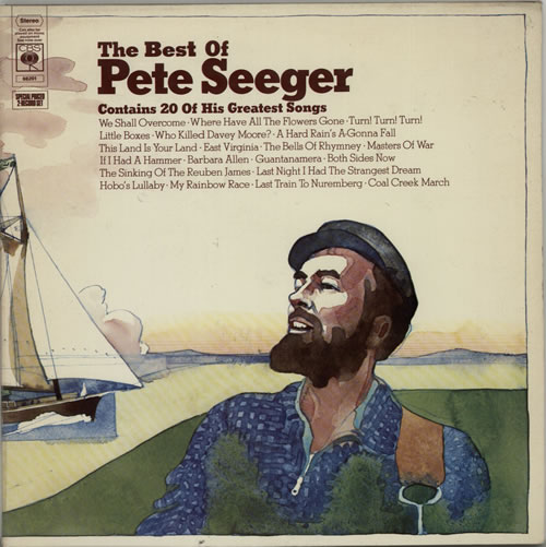 Pete Seeger The Best of Pete Seeger 2-LP vinyl record set (Double Album) UK PB-2LTH629723