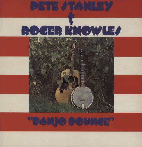 Pete Stanley Banjo Bounce vinyl LP album (LP record) UK 1GULPBA750904