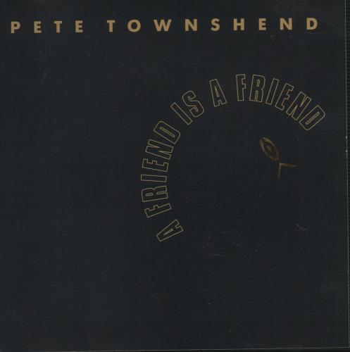 """Pete Townshend A Friend Is A Friend CD single (CD5 / 5"""") US TOWC5AF75614"""