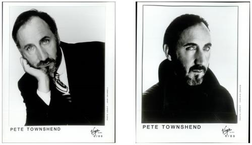 Pete Townshend Collection Of 3 Publicity Photographs photograph UK TOWPHCO510671