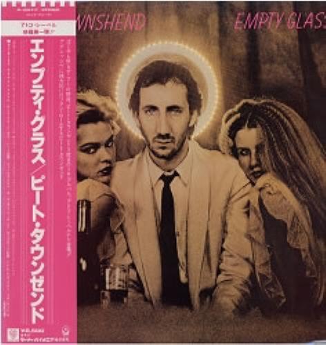 Pete Townshend Empty Glass vinyl LP album (LP record) Japanese TOWLPEM176316