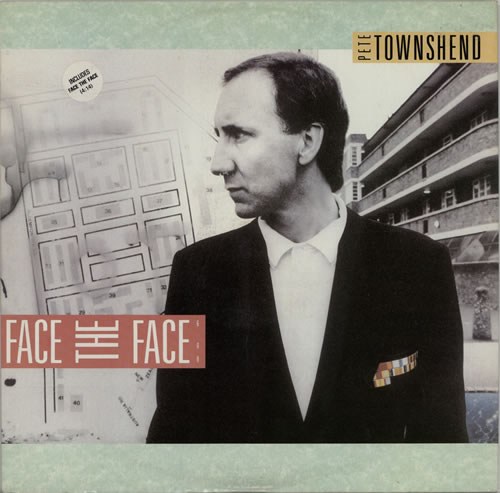 "Pete Townshend Face The Face 12"" vinyl single (12 inch record / Maxi-single) UK TOW12FA49674"