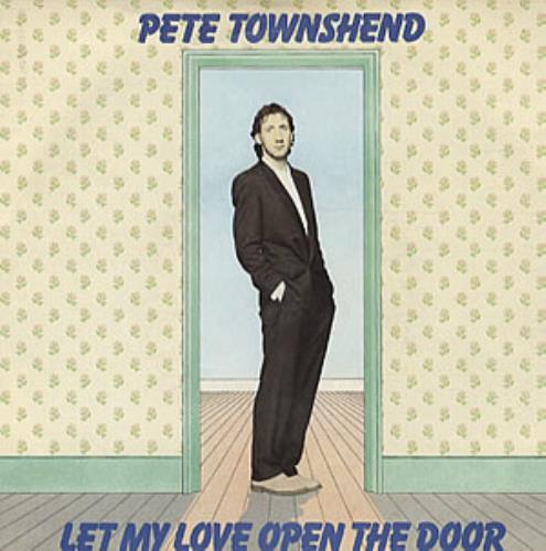 """Pete Townshend Let My Love Open The Door + Sleeve 7"""" vinyl single (7 inch record) UK TOW07LE58291"""