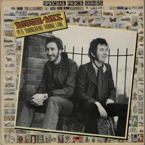 Pete Townshend Rough Mix vinyl LP album (LP record) UK TOWLPRO598479