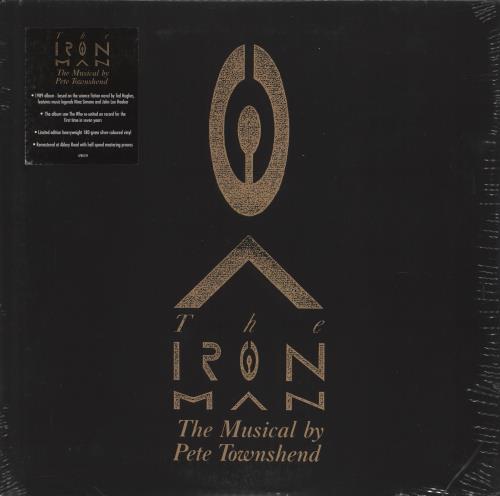 Pete Townshend The Iron Man - 180gm Silver Vinyl - Sealed vinyl LP album (LP record) UK TOWLPTH775820
