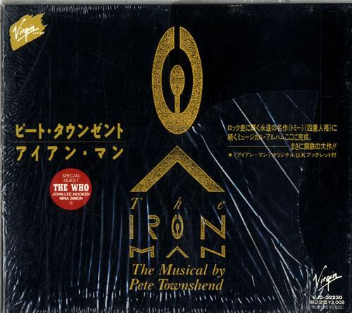 Pete Townshend The Iron Man - The Musical By Pete Townshend CD album (CDLP) Japanese TOWCDTH315318