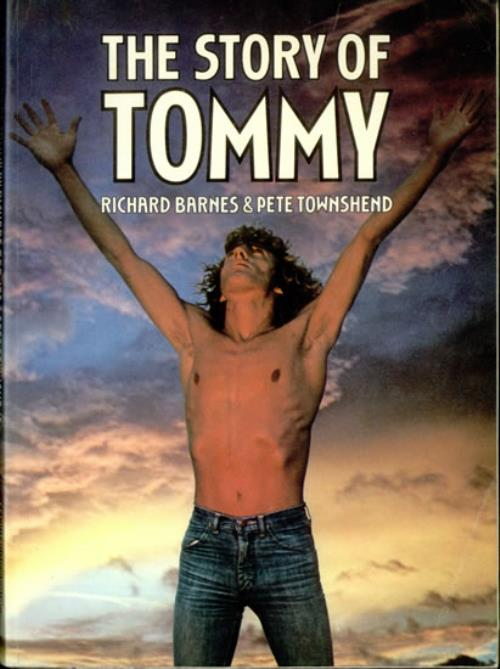 Pete Townshend The Story Of Tommy book UK TOWBKTH114539