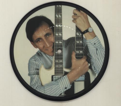 "Pete Townshend Uniforms 7"" vinyl picture disc 7 inch picture disc single UK TOW7PUN39153"