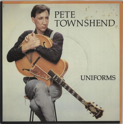 "Pete Townshend Uniforms 7"" vinyl single (7 inch record) UK TOW07UN50740"