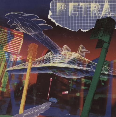 Petra Back To The Streets vinyl LP album (LP record) US QE6LPBA760806
