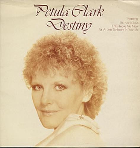 Petula Clark Destiny vinyl LP album (LP record) UK PTCLPDE352179