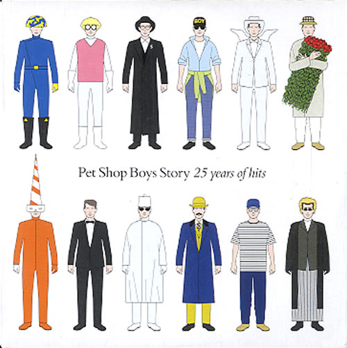 Pet Shop Boys 25 Years Of Hits CD album (CDLP) UK PSBCDYE464380