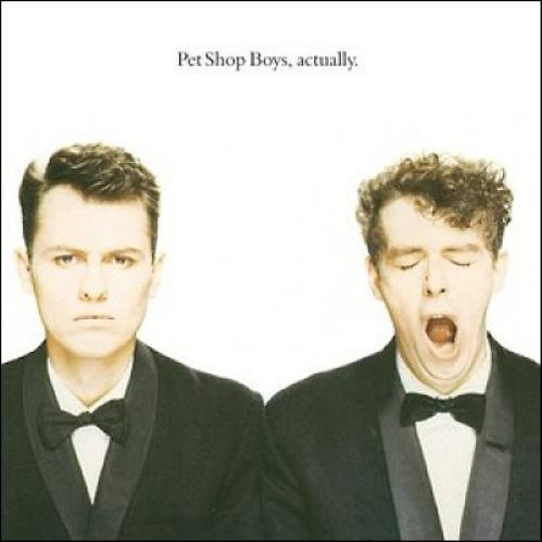 Pet Shop Boys Actually CD album (CDLP) UK PSBCDAC459941