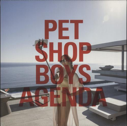 "Pet Shop Boys Agenda - Sealed 12"" vinyl single (12 inch record / Maxi-single) UK PSB12AG721586"