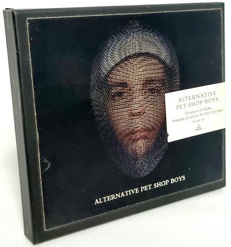 Pet Shop Boys Alternative - Limited Edition Box 2 CD album set (Double CD) UK PSB2CAL51389