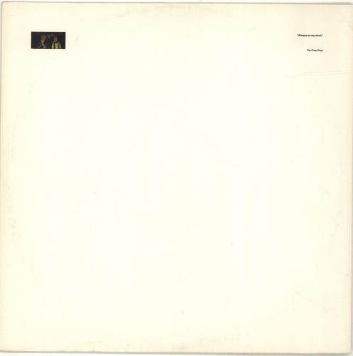 """Pet Shop Boys Always On My Mind 12"""" vinyl single (12 inch record / Maxi-single) UK PSB12AL04244"""