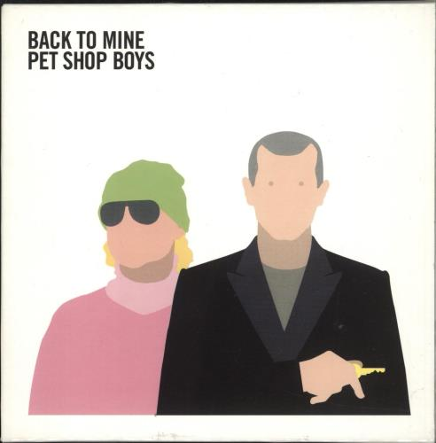 Pet Shop Boys Back To Mine 2 CD album set (Double CD) UK PSB2CBA321917