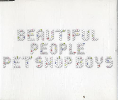 "Pet Shop Boys Beautiful People CD single (CD5 / 5"") German PSBC5BE483086"