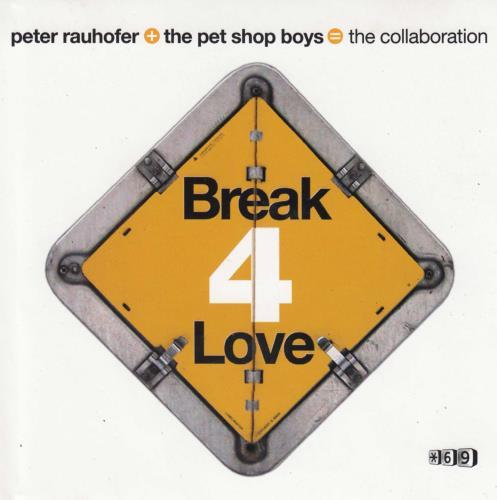 Pet Shop Boys Break 4 Love 2 CD album set (Double CD) US PSB2CBR203044