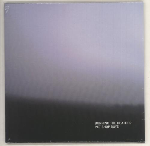 "Pet Shop Boys Burning The Heather - Sealed 7"" vinyl single (7 inch record) UK PSB07BU735429"