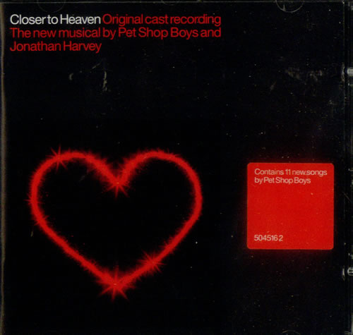 Pet Shop Boys Closer To Heaven CD album (CDLP) UK PSBCDCL196667