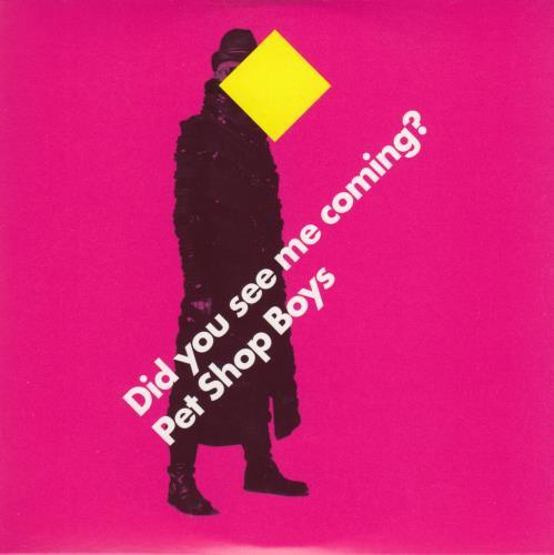 Pet Shop Boys Did You See Me Coming? 2-CD single set (Double CD single) UK PSB2SDI469931