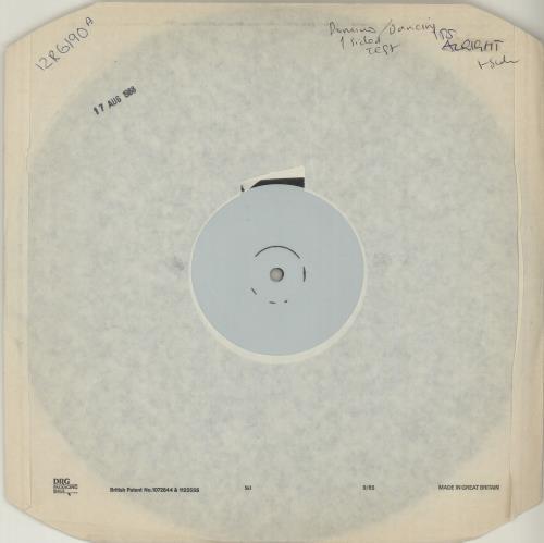 "Pet Shop Boys Domino Dancing - One Sided Test Pressing 12"" vinyl single (12 inch record / Maxi-single) UK PSB12DO657163"