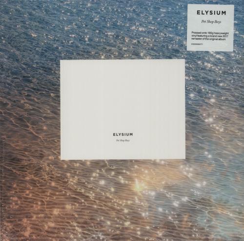 Pet Shop Boys Elysium - 180gram Vinyl + Sealed vinyl LP album (LP record) UK PSBLPEL683718