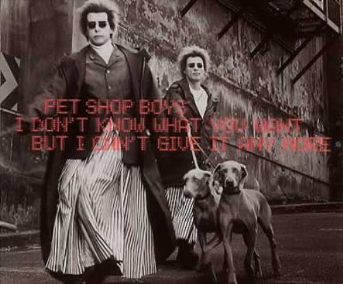 """Pet Shop Boys I Don't Know What You Want [CD1] CD single (CD5 / 5"""") German PSBC5ID202844"""