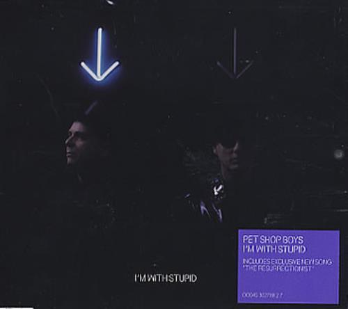 Pet Shop Boys I'm With Stupid CD/DVD single set UK PSBSDIM356258