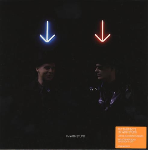 "Pet Shop Boys I'm With Stupid 7"" vinyl picture disc 7 inch picture disc single UK PSB7PIM356261"