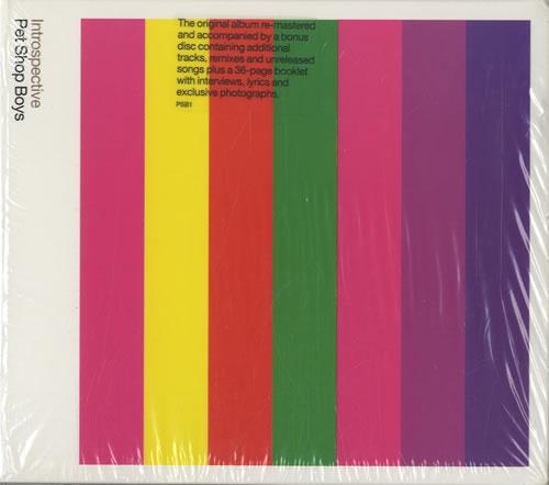 Pet Shop Boys Introspective + Bonus CD - Sealed 2 CD album set (Double CD) UK PSB2CIN182683