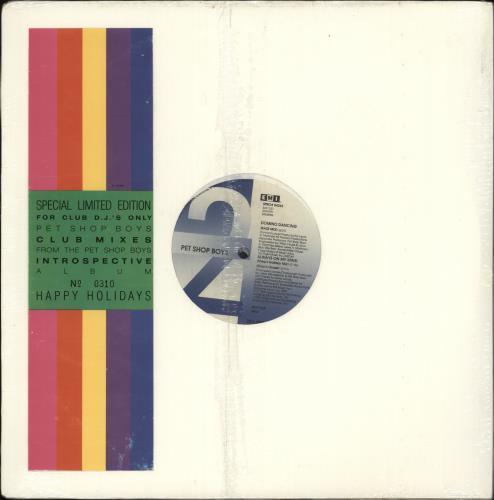 "Pet Shop Boys Introspective Club Mixes - Sealed 12"" vinyl single (12 inch record / Maxi-single) US PSB12IN157971"