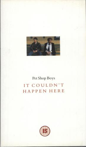 Pet Shop Boys It Couldn't Happen Here video (VHS or PAL or NTSC) UK PSBVIIT121593