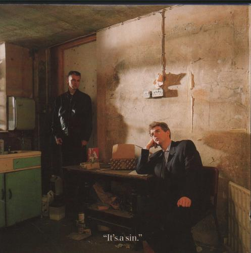 "Pet Shop Boys It's A Sin - EX CD single (CD5 / 5"") UK PSBC5IT323753"