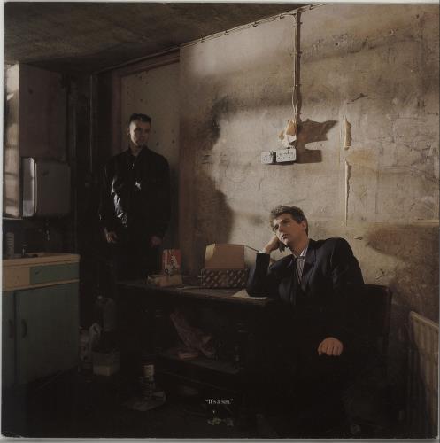 "Pet Shop Boys It's A Sin 12"" vinyl single (12 inch record / Maxi-single) UK PSB12IT04240"