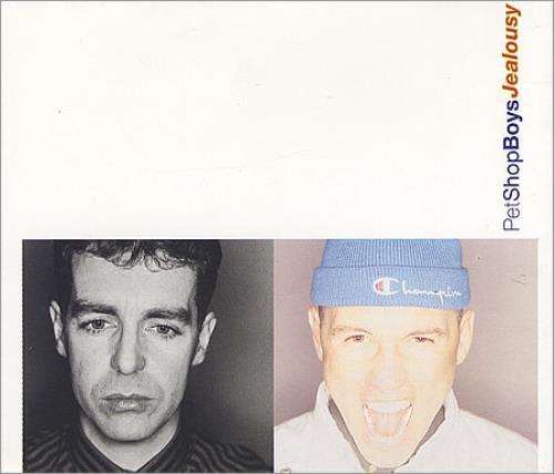 """Pet Shop Boys Jealousy CD single (CD5 / 5"""") Dutch PSBC5JE02263"""