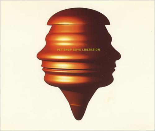 "Pet Shop Boys Liberation CD single (CD5 / 5"") Dutch PSBC5LI27044"