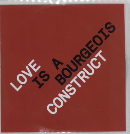 Pet Shop Boys Love Is A Bourgeois Construct - 7-Track Remixes CD-R acetate UK PSBCRLO595507