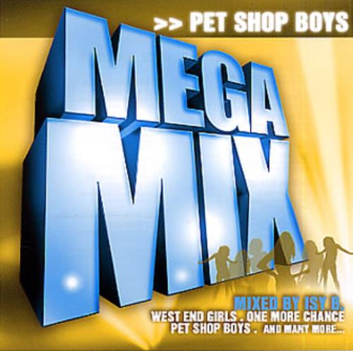 "Pet Shop Boys MegaMix CD single (CD5 / 5"") German PSBC5ME334520"