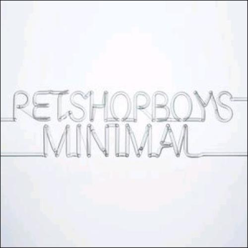 "Pet Shop Boys Minimal - Clear vinyl 7"" vinyl single (7 inch record) UK PSB07MI365544"