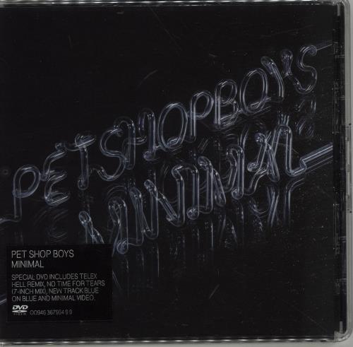 Pet Shop Boys Minimal DVD Single UK PSBDSMI365543