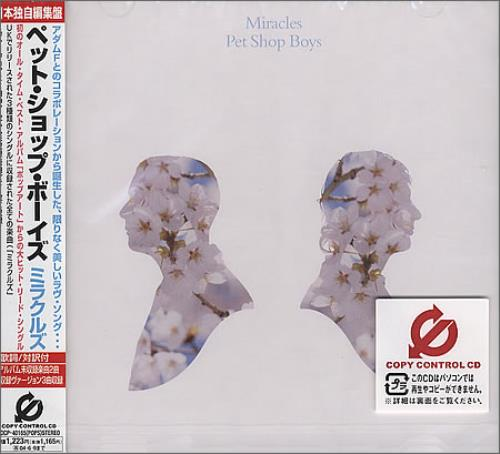 "Pet Shop Boys Miracles CD single (CD5 / 5"") Japanese PSBC5MI260545"