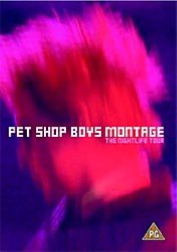 Pet Shop Boys Montage video (VHS or PAL or NTSC) UK PSBVIMO199614