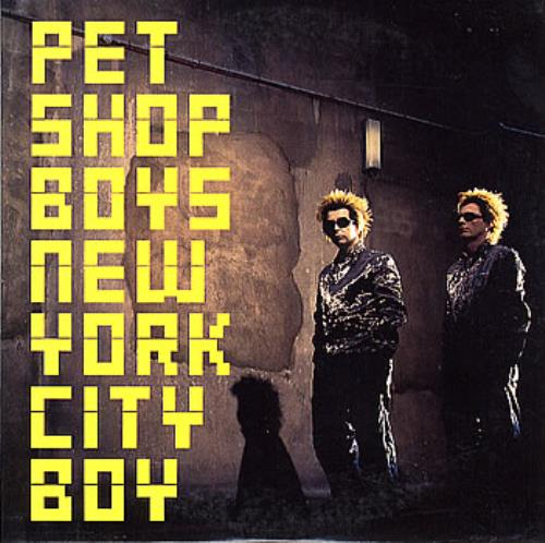 "Pet Shop Boys New York City Boy CD single (CD5 / 5"") UK PSBC5NE146845"