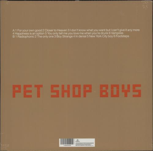 Pet Shop Boys Nightlife - 180gram Vinyl + Sealed vinyl LP album (LP record) UK PSBLPNI677698