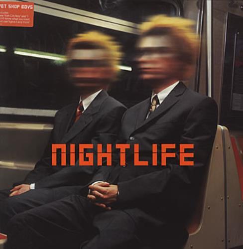 Pet Shop Boys Nightlife vinyl LP album (LP record) UK PSBLPNI145765